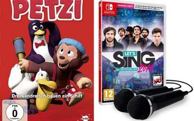 Petzi DVDs 1 Kopie 400x250 - Adventskalender Tür 7: Petzi DVDs und Let's Sing 2019