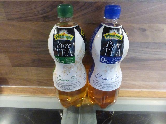 Pfanner Pure Tea 1 - Produkttest: Pfanner Pure Tea - neue Sorten 2016