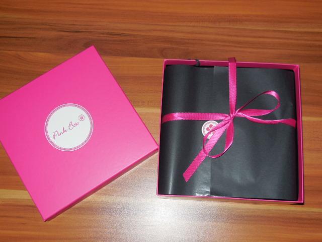Pink Box Oktober 2013 1 - beendet - Vorstellung und Gewinnspiel - die Pink Box Oktober
