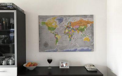 Pinnwand Weltkarte von bimago 1 400x250 - Produkttest: Pinnwand-Weltkarte von bimago