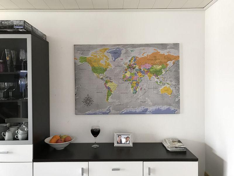 Produkttest: Pinnwand-Weltkarte von bimago