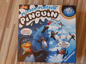 Plitsch Platsch Pinguin von Ravensburger 2 300x225 - Rezension: Spiel Plitsch-Platsch Pinguin von Ravensburger