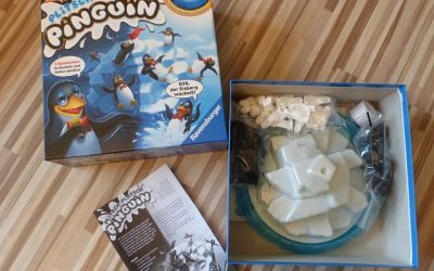 Spiel Plitsch-Platsch Pinguin von Ravensburger