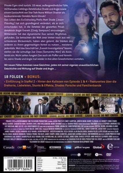 Private Eyes Staffel 2 DVD Gewinnspiel 3 426x600 - Gewinnspiel: Private Eyes Staffel 2