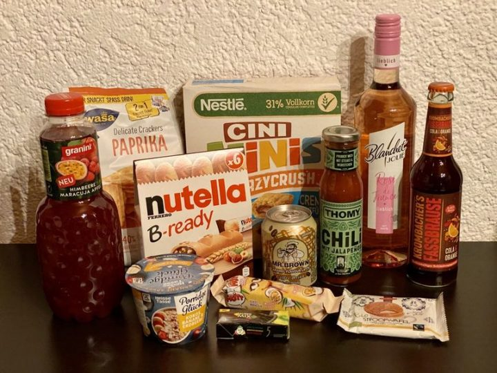Produkttest: Degusta Box Juli 2020