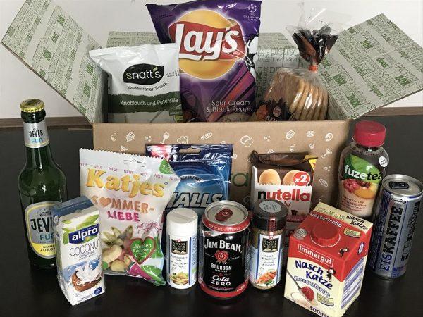 Produkttest Degustabox Mai 2018
