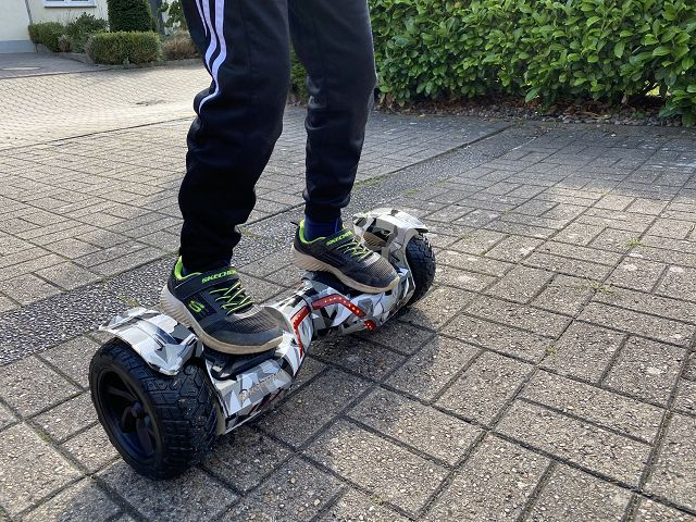 Produkttest: E-Balance Hoverboard ROBWAY X2
