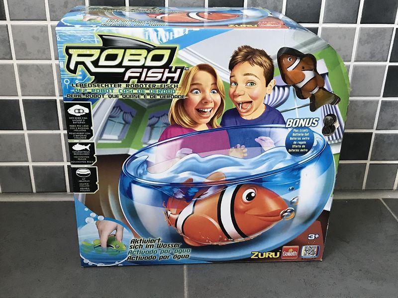 Produkttest: Goliath Robo Fish Spielset