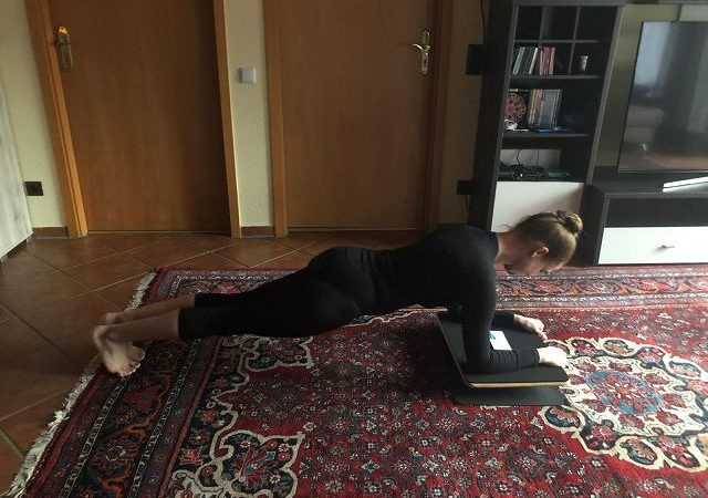 Produkttest: PlankPad von Fit for Fun