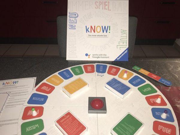 Quizspiel Google kNOW! von Ravensburger