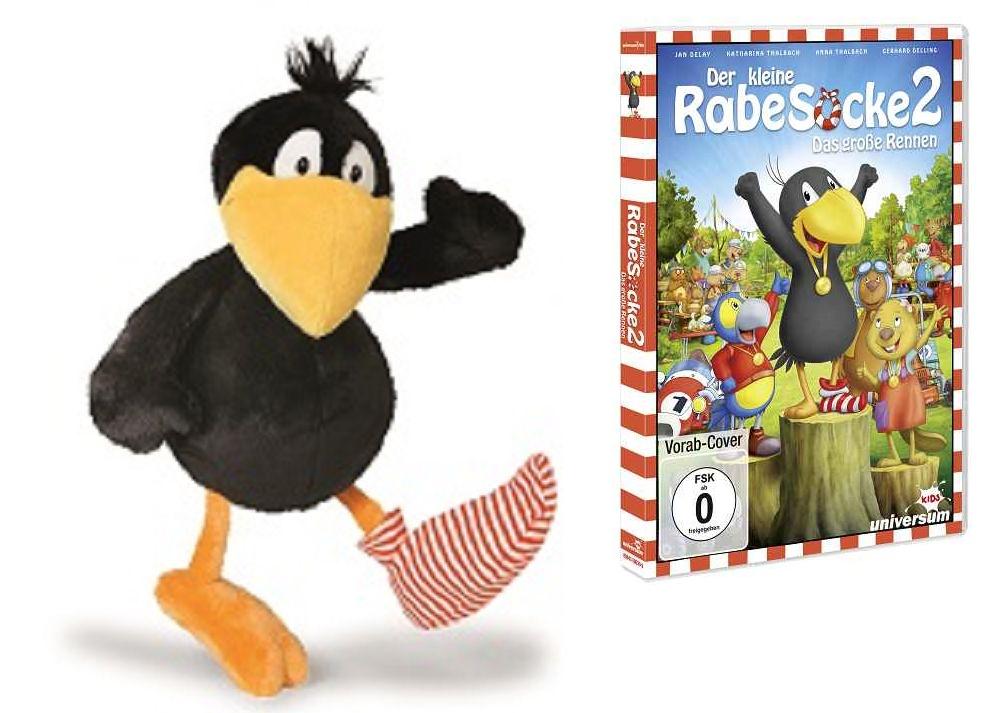 Rabe Socke - Gewinnspiel: Der kleine Rabe Socke 2 - Das große Rennen