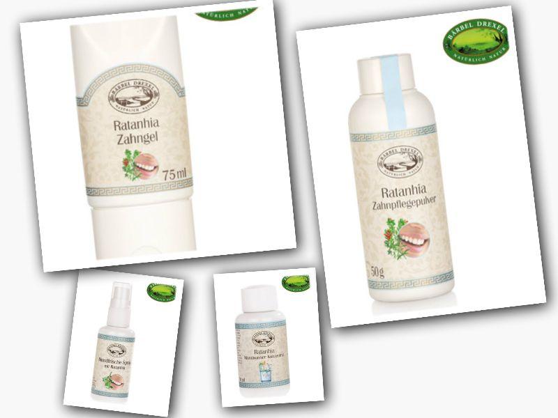 Ratanhia Zahnpflege - Produkttest: Ratanhia Zahnpflege Produkte
