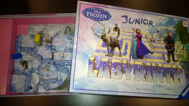 Ravensburger Disney Frozen Junior Labyrinth 1 - Rezension: Ravensburger Disney Frozen Junior Labyrinth