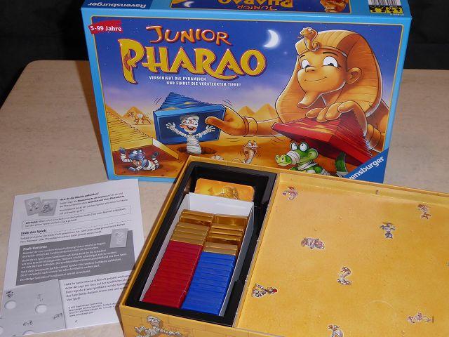 Rezension: Spiel Junior Pharao von Ravensburger