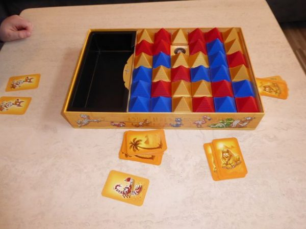 Ravensburger Junior Pharao 9 600x450 - Rezension: Spiel Junior Pharao von Ravensburger