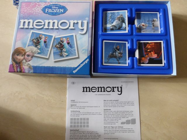 Ravensburger Memory 2 - Rezension: Ravensburger Memory Disney Frozen