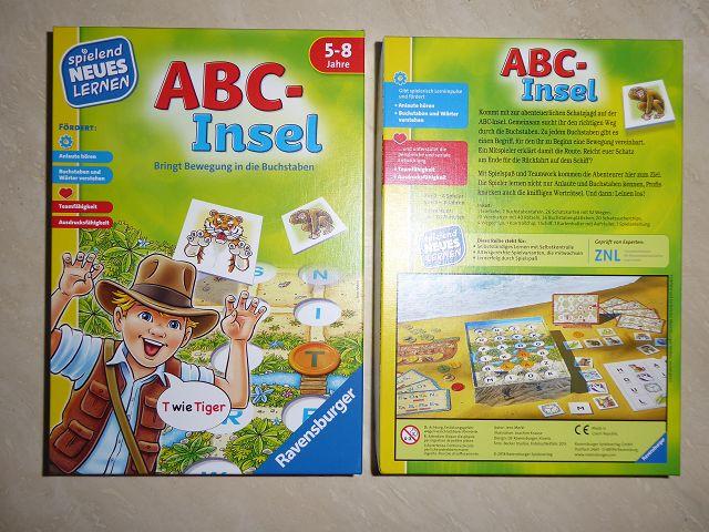 Rezension: Ravensburger Spiel ABC-Insel