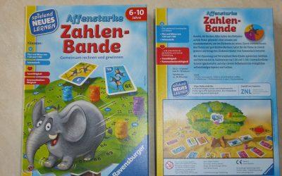 Ravensburger Spiel Affenstarke Zahlenbande 9 400x250 - Gewinnspiel: Ravensburger Spiel Affenstarke Zahlenbande