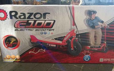 Razor E Scooter Test 2 400x250 - Produkttest: Razor Elektroroller E100