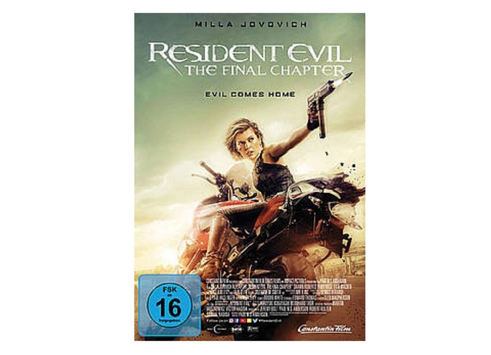 Resident Eval The final Chapter TB - Gewinnspiel: Resident Evil: The Final Chapter