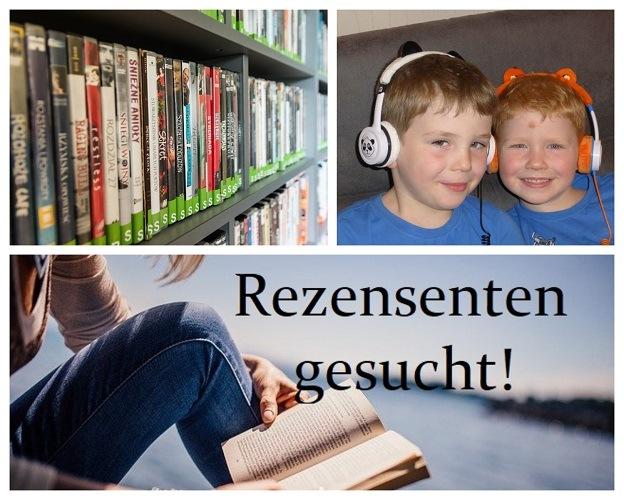 Rezensenten für Bücher und DVDs gesucht!