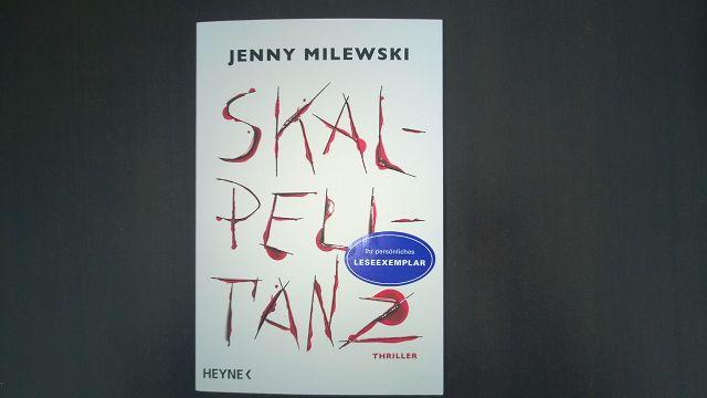 Rezension Skalpelltanz 1 - Rezension - Skalpelltanz von Jenny Milewski