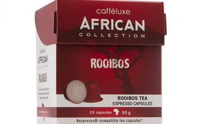 Rooibusch Tee Kapseln von Cafféluxe