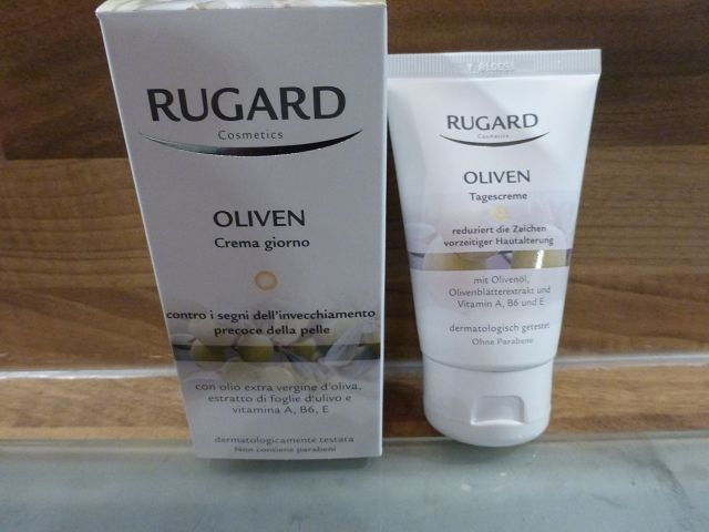 Produkttest: Rugard Cosmetics Oliven Tagescreme