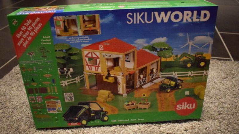 Produkttest/Gewinnspiel: SIKUWORLD 5608 Bauernhof