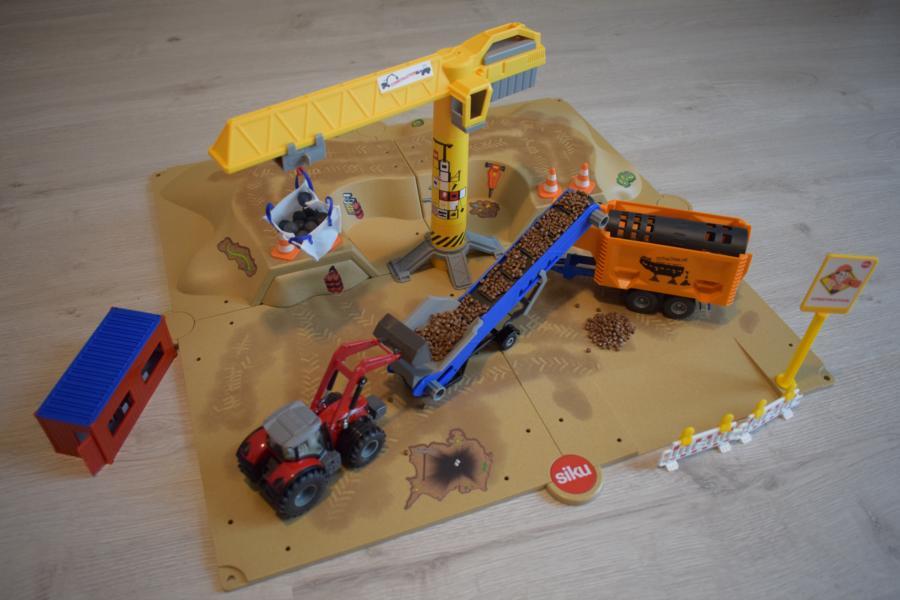 Produkttest/Gewinnspiel: SIKUWORLD Baugrube Nr. 5701