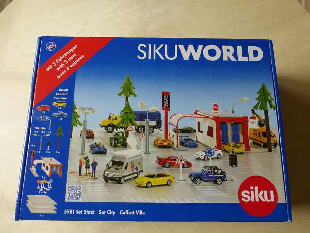 Gewinnspiel: SIKUWORLD Set Stadt