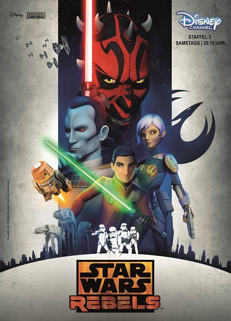 STAR WARS REBELS Staffel 3 - Gewinnspiel (beendet): STAR WARS REBELS Staffel 3