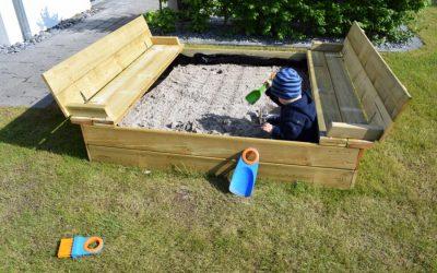 Sandkasten Flippey 10 400x250 - Produkttest: Sandkasten Flippey mit Klappdeckel von Wickey