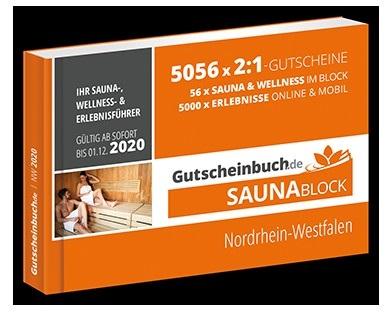 Saunablock Nordrhein Westfalen 1 - Testaktion: Saunablock von Gutscheinbuch.de