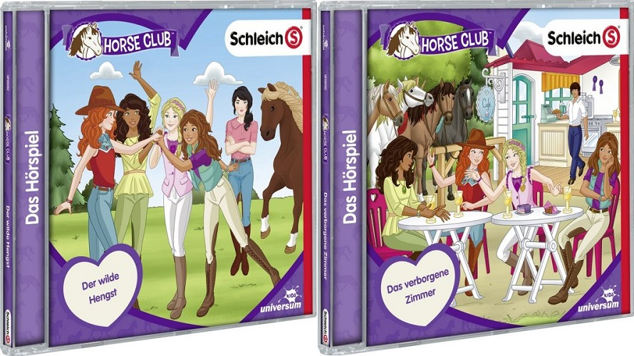 Schleich Horse Club-CD 7 und 8 – Gewinnspiel
