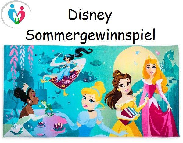 Shop Disney Sommer Gewinnspiel