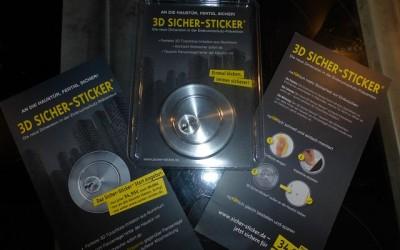 Sicher Sticker 1 400x250 - Produkttest: 3D Sicher-Sticker