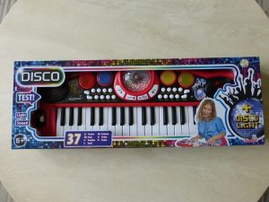 Simba My Music World Disco Keyboard 1 300x225 - Produkttest: Simba My Music World Disco Keyboard