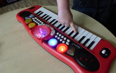 Simba My Music World Disco Keyboard 7 400x250 - Produkttest: Simba My Music World Disco Keyboard