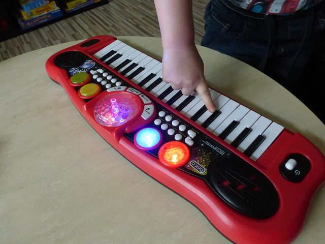 Produkttest: Simba My Music World Disco Keyboard