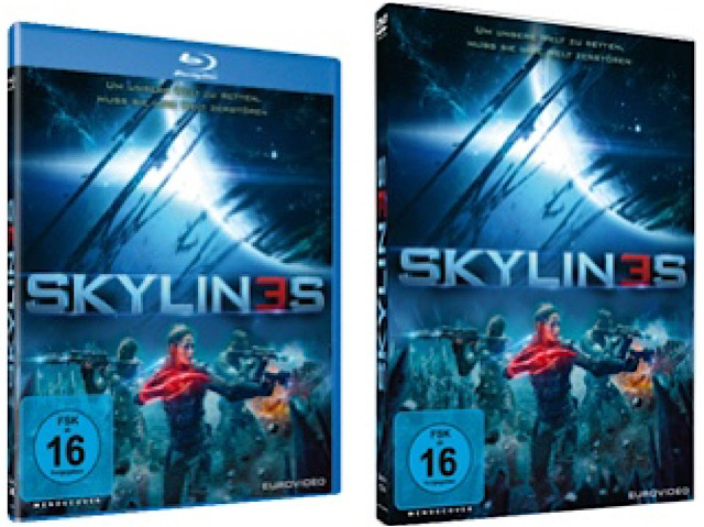 Gewinnspiel: SKYLINES auf DVD