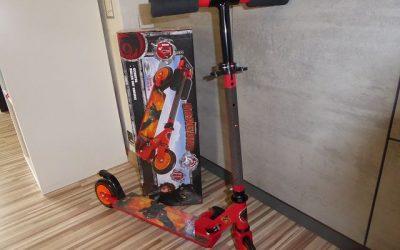 Smoby Dragons Roller mit Bremse 10 400x250 - Produkttest: Smoby Dragons Roller mit Bremse