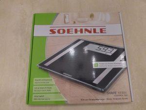 Soehnle Shape Sense Control 100 1 300x225 - Produkttest: Soehnle Analysewaage Shape Sense Control 100