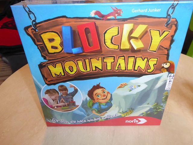 Gewinnspiel: Spiel Blocky Mountains von Noris
