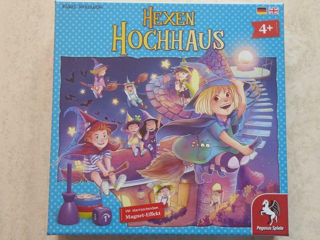 Gewinnspiel: Spiel Hexenhochhaus von Pegasus
