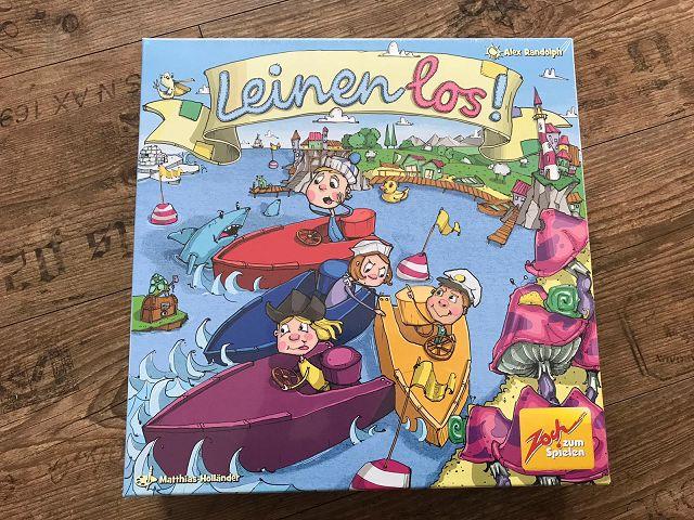 Rezension: Spiel Leinen los! vom Zoch Verlag