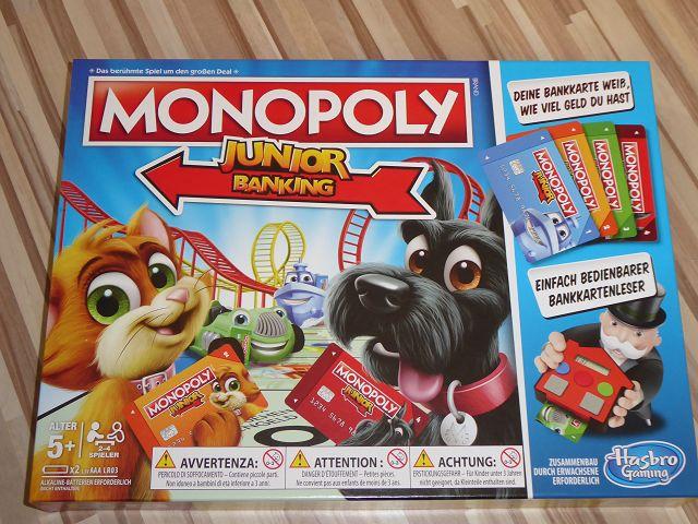 Rezension: Spiel Monopoly Junior Banking von Hasbro