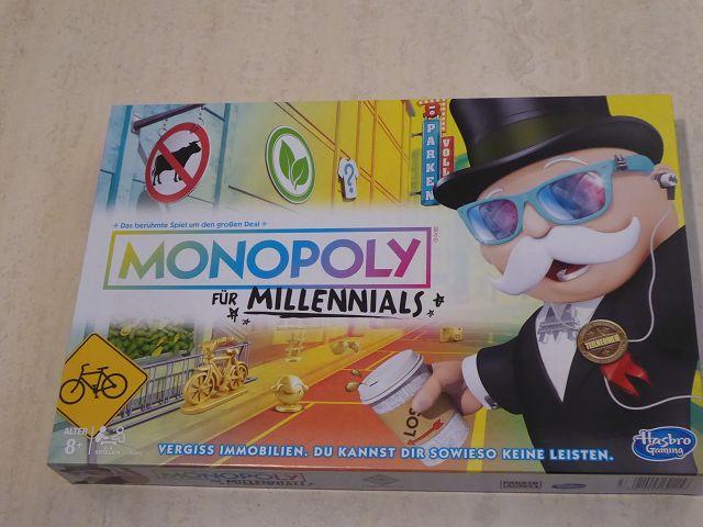 Rezension: Spiel Monopoly für Millennials