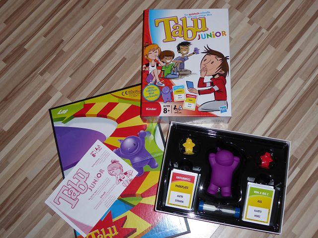 Rezension: Spiel Tabu Junior von Hasbro
