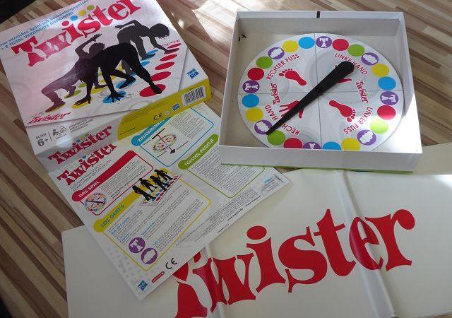 Rezension: Spiel Twister von Hasbro